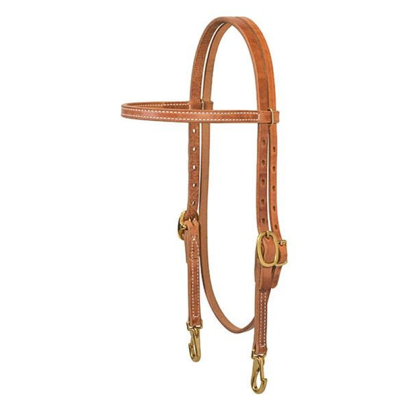 ProTack Single-Ply Browband Trainer Headstall