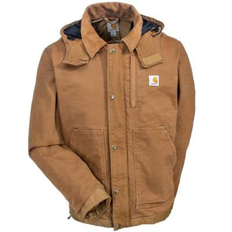 Carhartt Brown Full Swing Caldwell Insulated Jacket