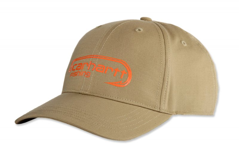 Carhartt FORCE Extremes Fish Hook Logo Cap Dark Khaki