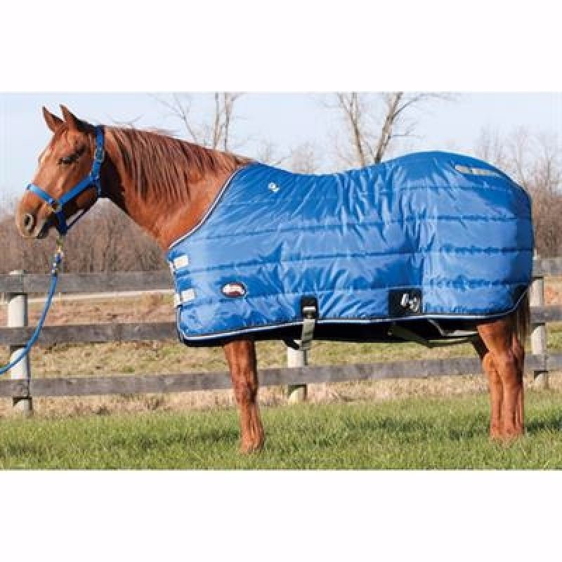 Winter stable blanket Blue