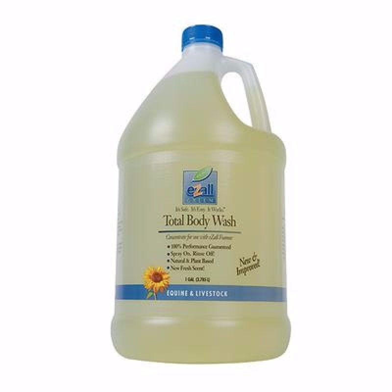 Total body wash, gallon