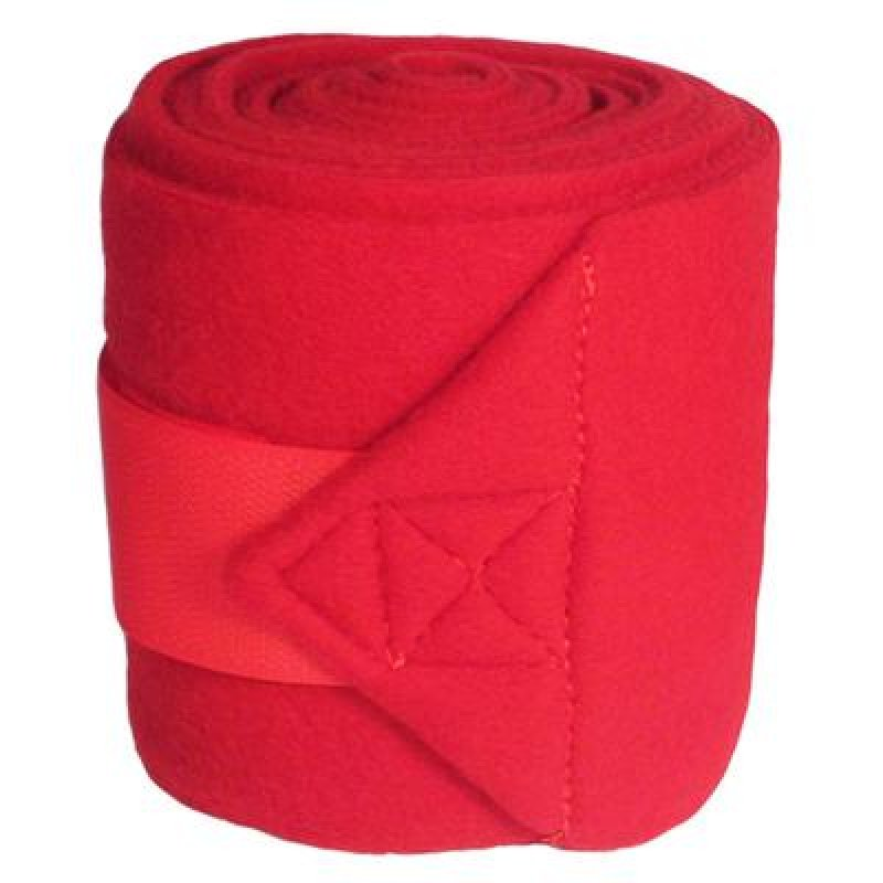 Mustang Polo Wraps - Red
