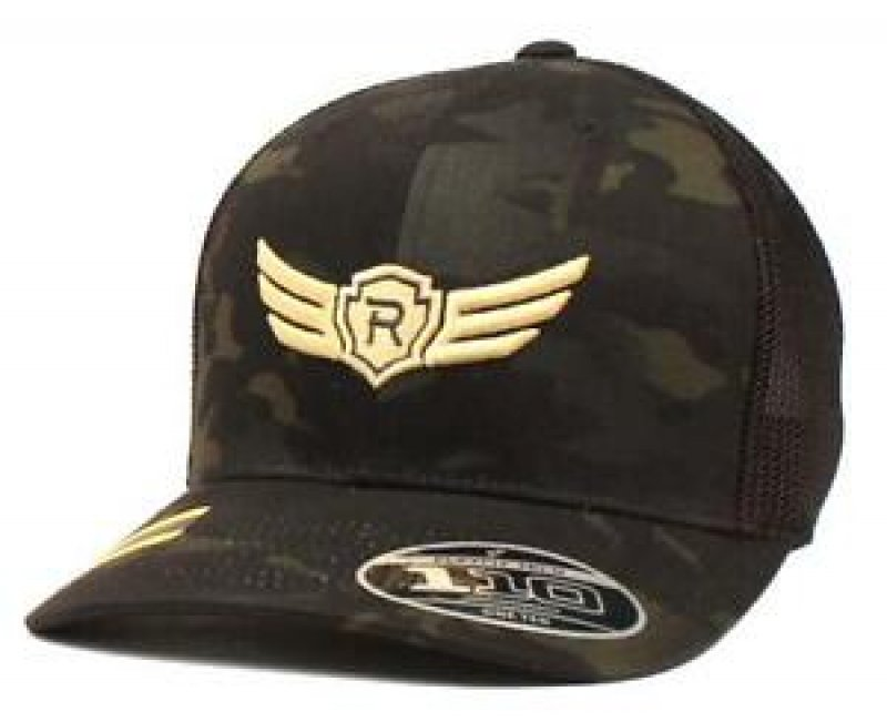 Baseball Cap Mesh Back Relentless Patch Camo