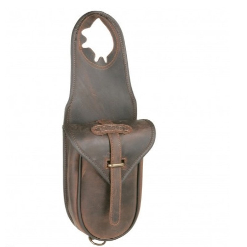 Single Horn saddle bag - Leather