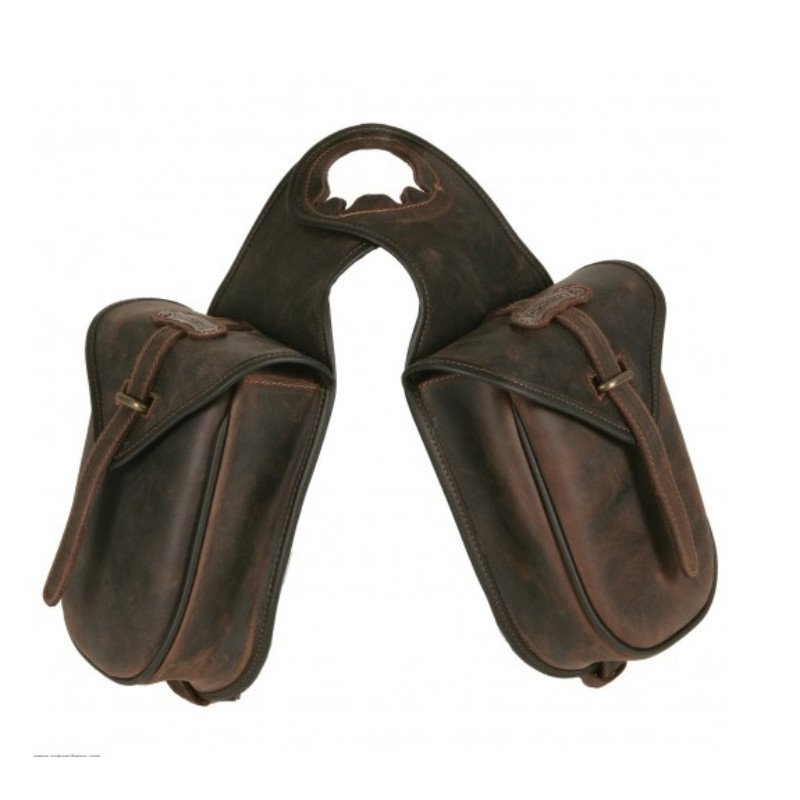 Double Horn saddle bag - Leather