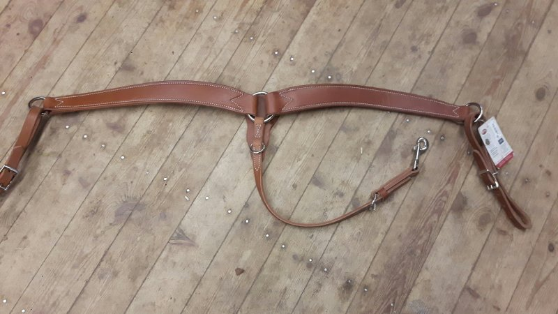 Horizons Contoured Ring-in-Center Breast Collar  Light brown
