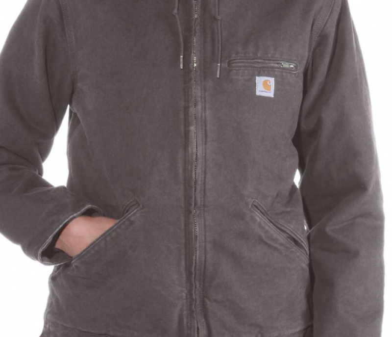 carhartt jacket grey