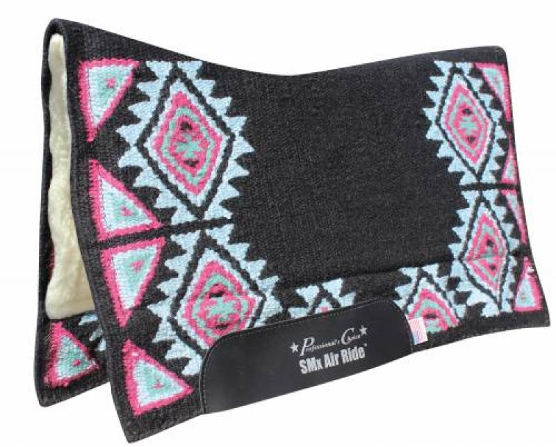 Comfort-Fit SMx Air Ride Saddle Pad: BUCKEYE