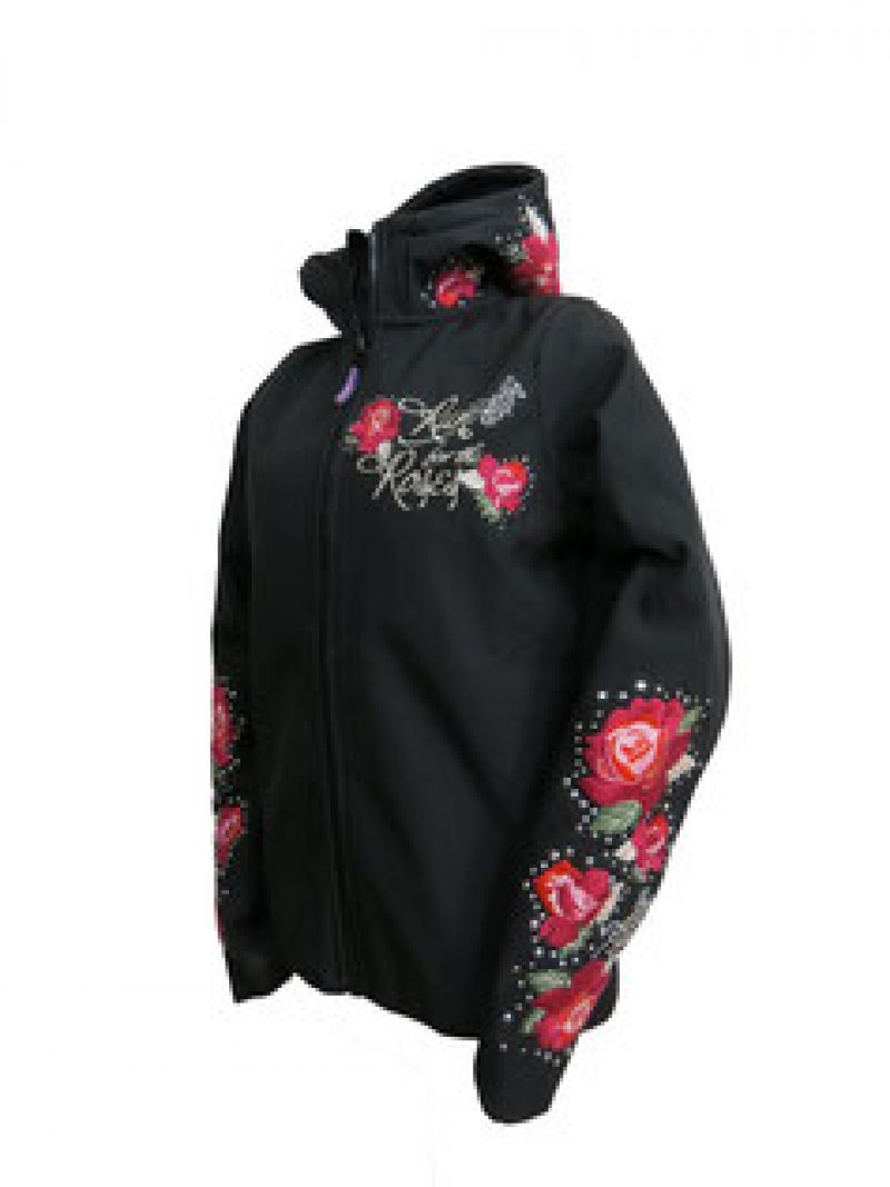 ranchgirls softfleece jas roses