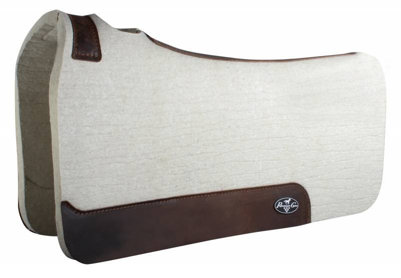 Steam Pressed Comfort-Fit Felt Saddle Pad. Prof choice