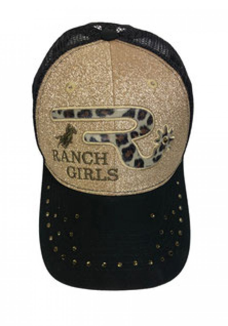 ranchgirls cap gold