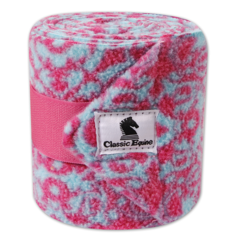 POLO WRAPS - Fushia/blue lace