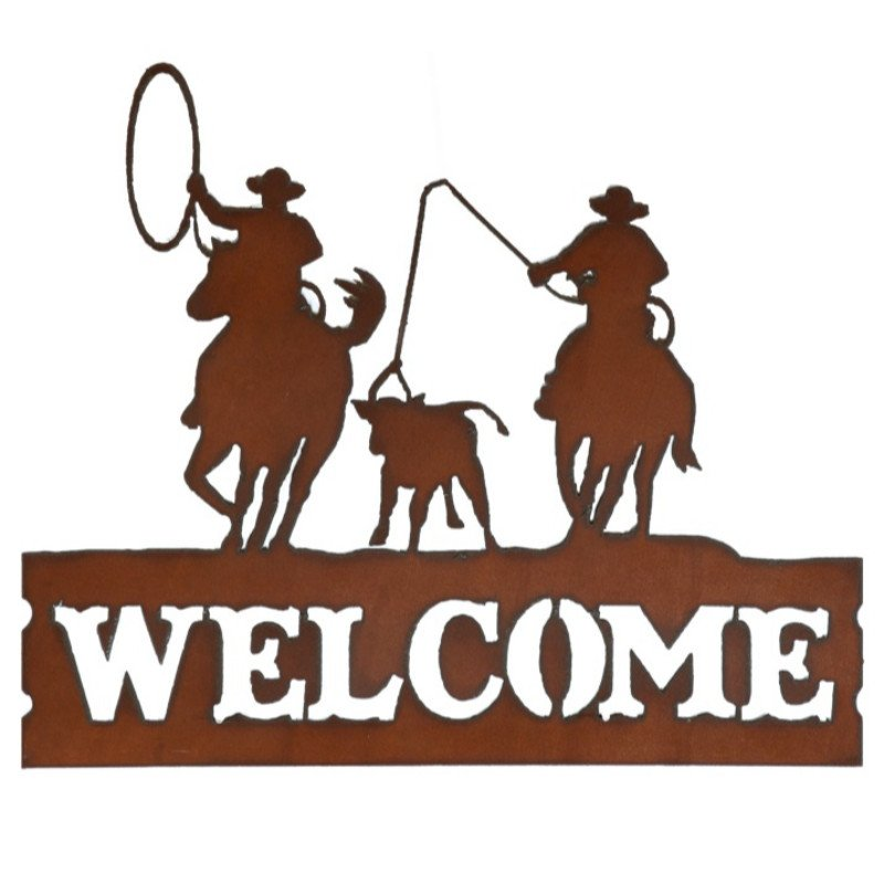Horizontal Welcome sign- Team Roper